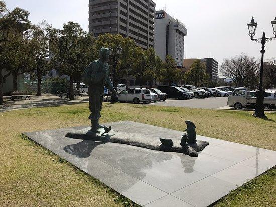 Okuninushi to Shirousagi Statues
