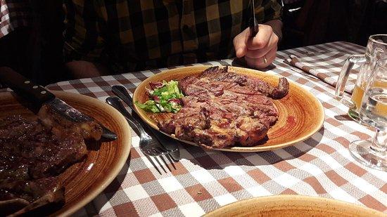 Bull Steak Photo