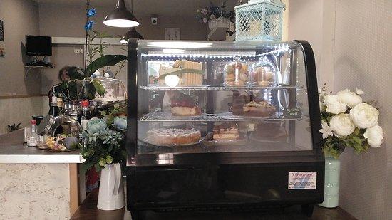 Mislata, Spain: Tartas diferentes