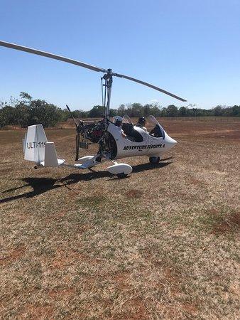 Cobano, Costa Rica: Super safe flying machines