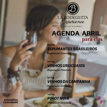 Dois Irmaos, RS: Agenda abril 2019