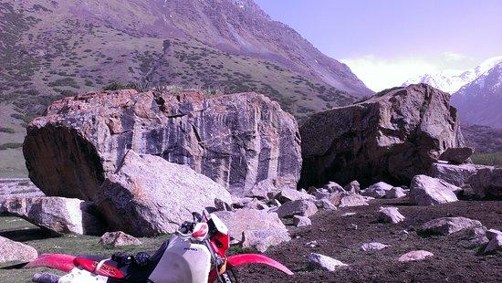 Saruu, Kirgisistan: Ущелье Джууку