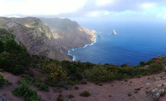 Jamestown: View to Speery Island, St Helena