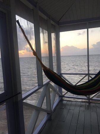 Calm location in Belize