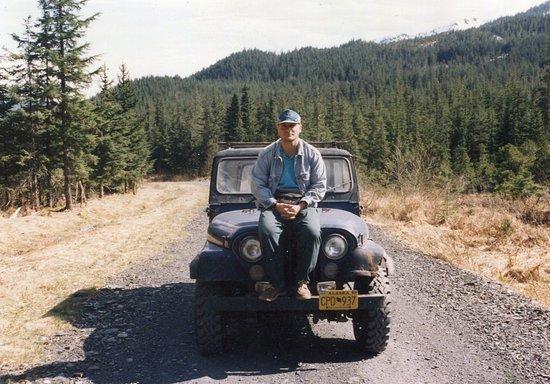 Douglas Island traveling in Alaska year 1994