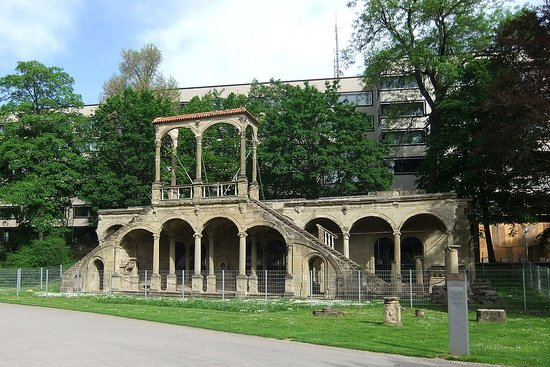 Lusthausruine im Schlossgarten