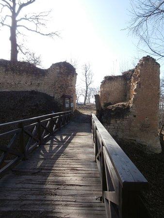 Louny, Czech Republic: Zřícenina hradu Pravda