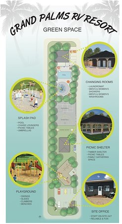 Grand Marais, Καναδάς: We have a variety of new amenities that we will be getting spring/summer 2019 - our 'Green Space' is apart of that!