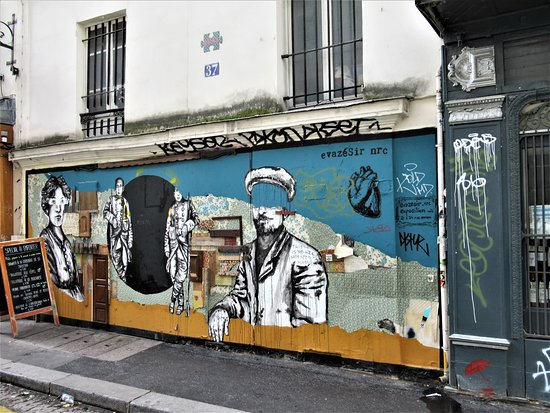 "Fresque ""Revolution ordinaire"""