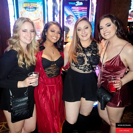 4 of Vegas' best bars & clubs. No lining up. No paying to enter. Enjoy food, drinks & party games throughout the night. It's the easiest way to meet people & party in Vegas!