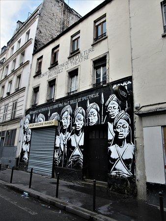 """Fresque """"Guerriers bantous-03"""""""