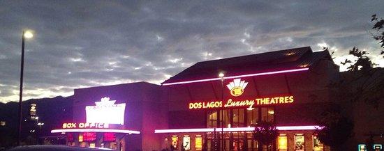Corona, CA: Dos Lagos at Night