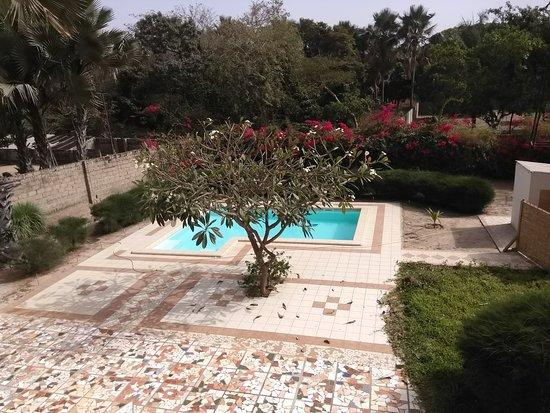 Sanyang, Gambia: pool at base camp