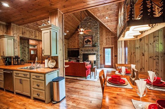 Away From It All is a great place to get away and relax in Broken Bow, Oklahoma. It is close to all the excitement of Hochatown resort area!