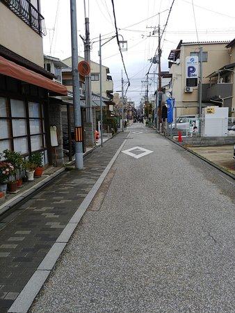 Yosuko: ドンツキした三叉路の右側角がお店です。