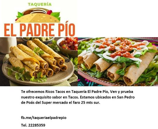 San Pedro de Poas, Κόστα Ρίκα: Exquisitos Tacos.