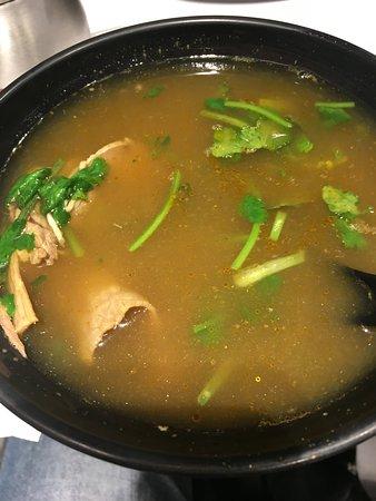 Yang' s Fry-Dumpling(Wujiang Store): カレー味の牛肉スープ