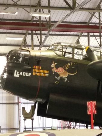 Coningsby, UK: The only flying Lancaster left in the UK