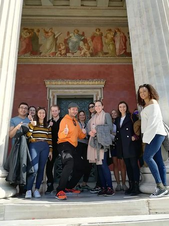 Nikos' Free Walking Tour in Athens: Group picture