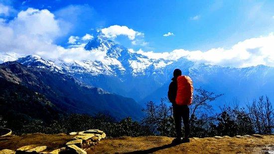 Annapurna Region, Nepal: Tenzy the best guide....