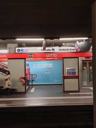 Metropolitana Milanese: Interno