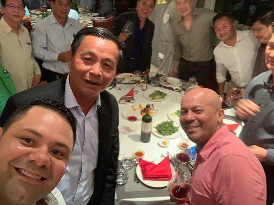 Amigos Brazilian Steakhouse: Enjoy dinner