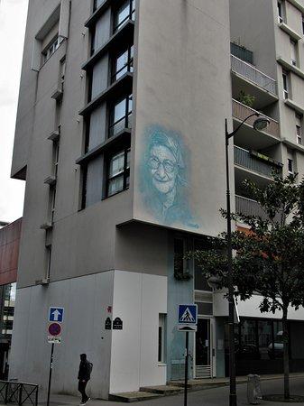 """Fresque """"Soeur Emmanuelle"""""""