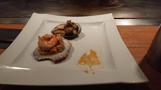 アワビ&海鮮焼