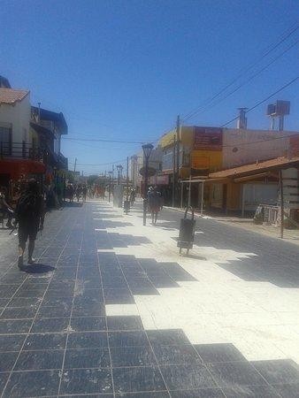 Peatonal de Las Grutas