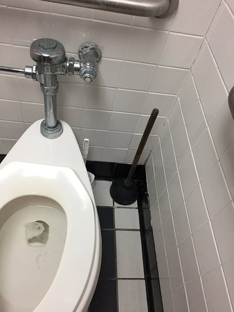 old stained plunger in plain sight - Picture of Ruby Tuesday, Walterboro -  Tripadvisor