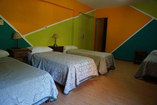 San Carlos de Bariloche, Argentina: Habitaciones cuádruples