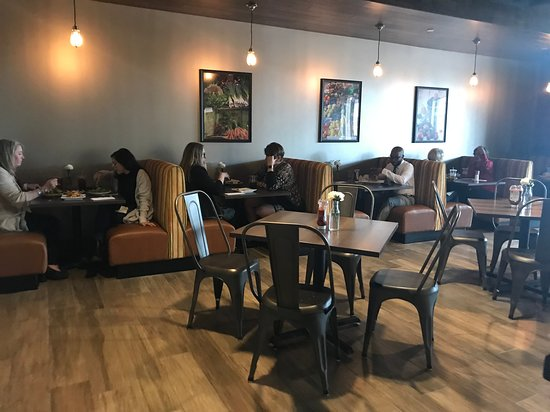 seating and decor picture of stir cafe dallas dallas tripadvisor rh tripadvisor com