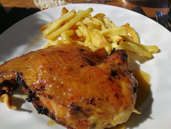 Pollo Asado Menú Del Día Picture Of Lobbo Terraza
