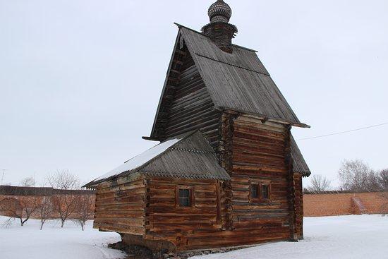 Yuryev-Polsky, Ρωσία: Георгиевская деревянная церковь