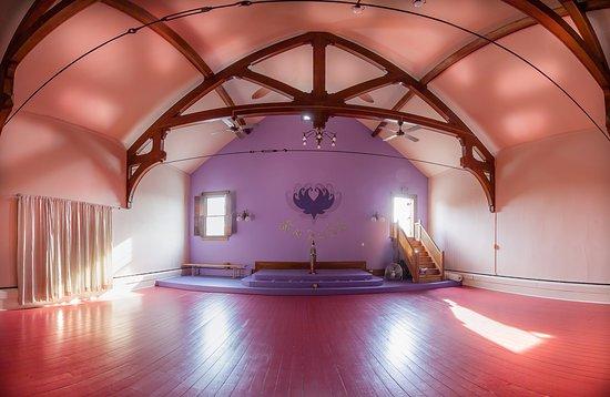 North Fork Yoga Shala: Our beautiful historic studio