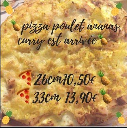La Rose d'Or: Pizza du mois de mars