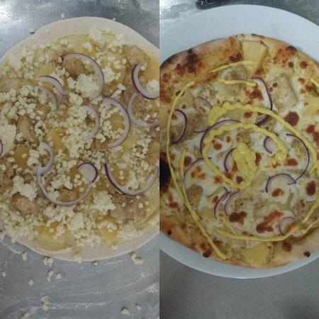 La Rose d'Or: Pizza du mois de mars 🍕🍍