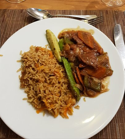 Not only sweet in my diet, sometimes comes across meat and rice. The meat is always soft and tasty.