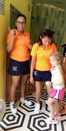 Grand Palladium Costa Mujeres Resort & Spa: Ruth and suzana ❤️you both are truly amazing! Kids club rocks