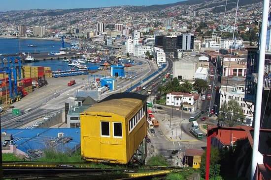 Valparaiso og Vina del Mar...