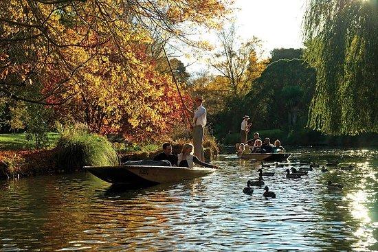 Kahnfahrt auf dem Fluss Avon mit...
