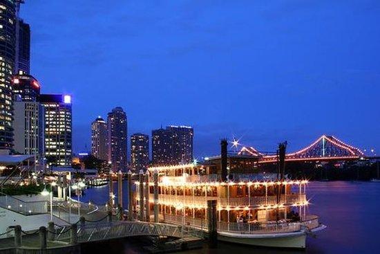 Middagscruise på Brisbane River