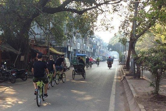 Recorrido en bicicleta por Delhi...