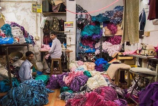 Dharavi Slum liten gruppe tur i Mumbai