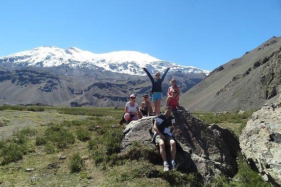 Cajon del Maipo 8 km Escursionismo
