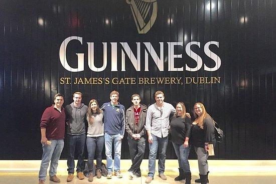 Hopp over Line Guinness og Jameson...