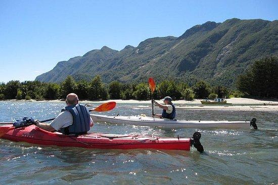 Kayak en el río Petrohué desde Puerto...