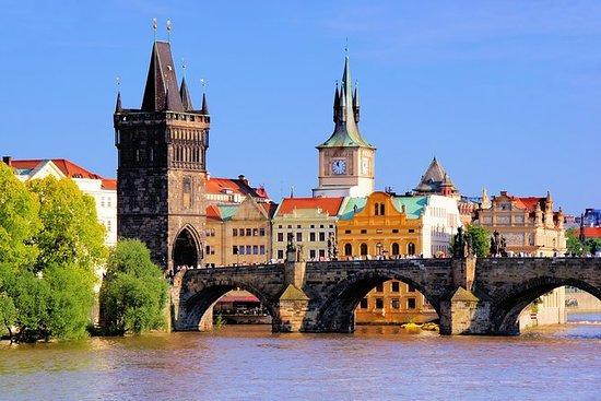 Beste av Praha: Byvandring, Båttur og...
