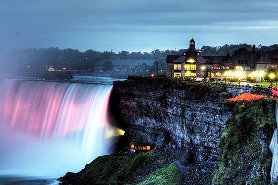 Niagara Falls natttur med middag og...