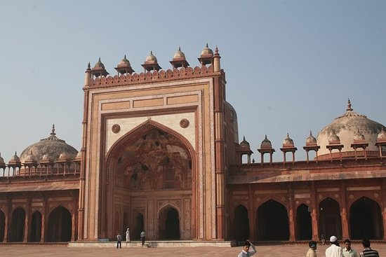 Privat dagstur til Fatehpur Sikri og...